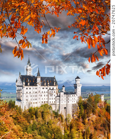 Neuschwanstein castle in Bavaria, Germany 20747625