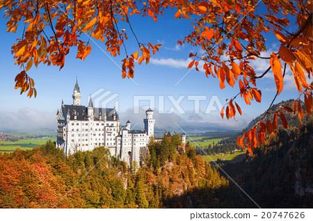 Neuschwanstein castle in Bavaria, Germany 20747626