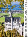 Neuschwanstein castle in Bavaria, Germany 20747631