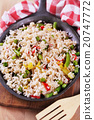 Vegetable fried rice 20747772