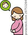 pregnancy, pregnant, pregnant woman 20753264