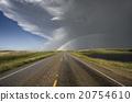 Prairie Hail Storm and Rainbow 20754610