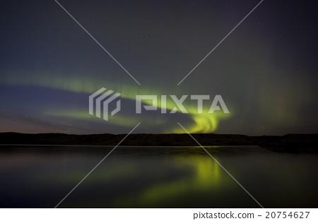 Night Shot Northern Lights 20754627