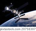 International Space Station Orbiting Earth 20756307