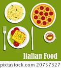 cuisine, italian, vector 20757327