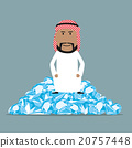 rich, businessman, vector 20757448