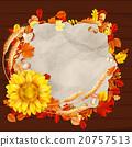 autumn, sunflower, design 20757513