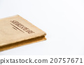 An old book by Shakespeare on white background 20757671