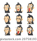 Monkey Emoticons 20758193