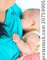 Baby drinking breastmilk 20759905
