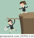 Fiscal cliff, crisis concept 20761110
