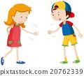 Children playing rock scissors paper 20762339
