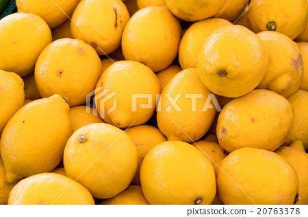 group of lemon 20763378