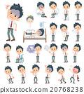 schoolboy White short sleeved shirt sickness 20768238