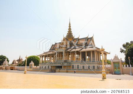 Chan Chhaya Pavilion, Royal Palace in Phnom Penh. 20768515