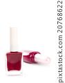 two bottles of nail polish 20768622
