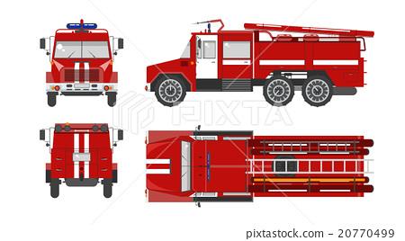 Fire engine car 20770499