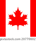 square - flag of Canada 20770602