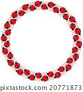 Ladybugs frame 20771873