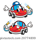 Car Character is Car Wash to Cool.  20774899