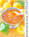 jam and apricots 20776147