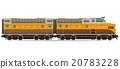 railway locomotive train vector illustration 20783228