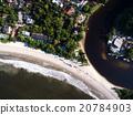 Aerial View of Barra do Una Beach, Brazil 20784903
