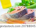 raw salmon 20788045