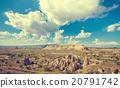 Spectacular rocks formations in Cappadocia 20791742