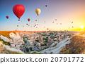 Hot air balloons over Cappadocia 20791772