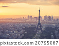 Eiffel tower with the Paris France 20795067