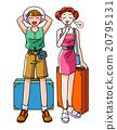 旅遊女性的夏天 20795131