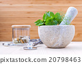 Alternative health care fresh herbs. 20798463