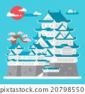 城堡 姫路 日本 20798550