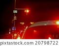 夜晚時光 夜景 等紅綠燈 20798722