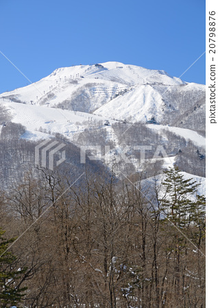 Stock Photo: fallen snow, northern alps, winter mountain