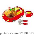 孩子的午餐 西餐 食物 20799613