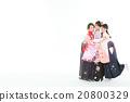女性 擁抱 女 20800329