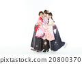 女性 擁抱 女 20800370