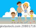 family, bathing, costume 20801716