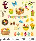 Easter Symbols Set 20802305