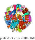 Sale Season. Doodle Cloth Collection 20805160