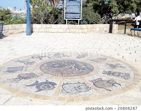 Jaffa Zodiacal signs in Abrasha park 2010 20808287