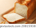 白麵包 麵包 一片片 20815938
