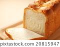 白麵包 麵包 一片片 20815947