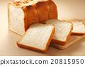 白麵包 麵包 一片片 20815950