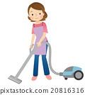 吸尘器 女性 女 20816316