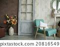 interior, room, retro 20816549