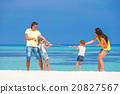 beach, family, happy 20827567
