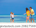 beach, child, family 20827569